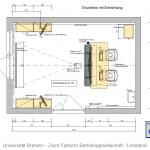 Universität Bremen - Zarm Fallturm Betriebsgesellschaft - Leitstand